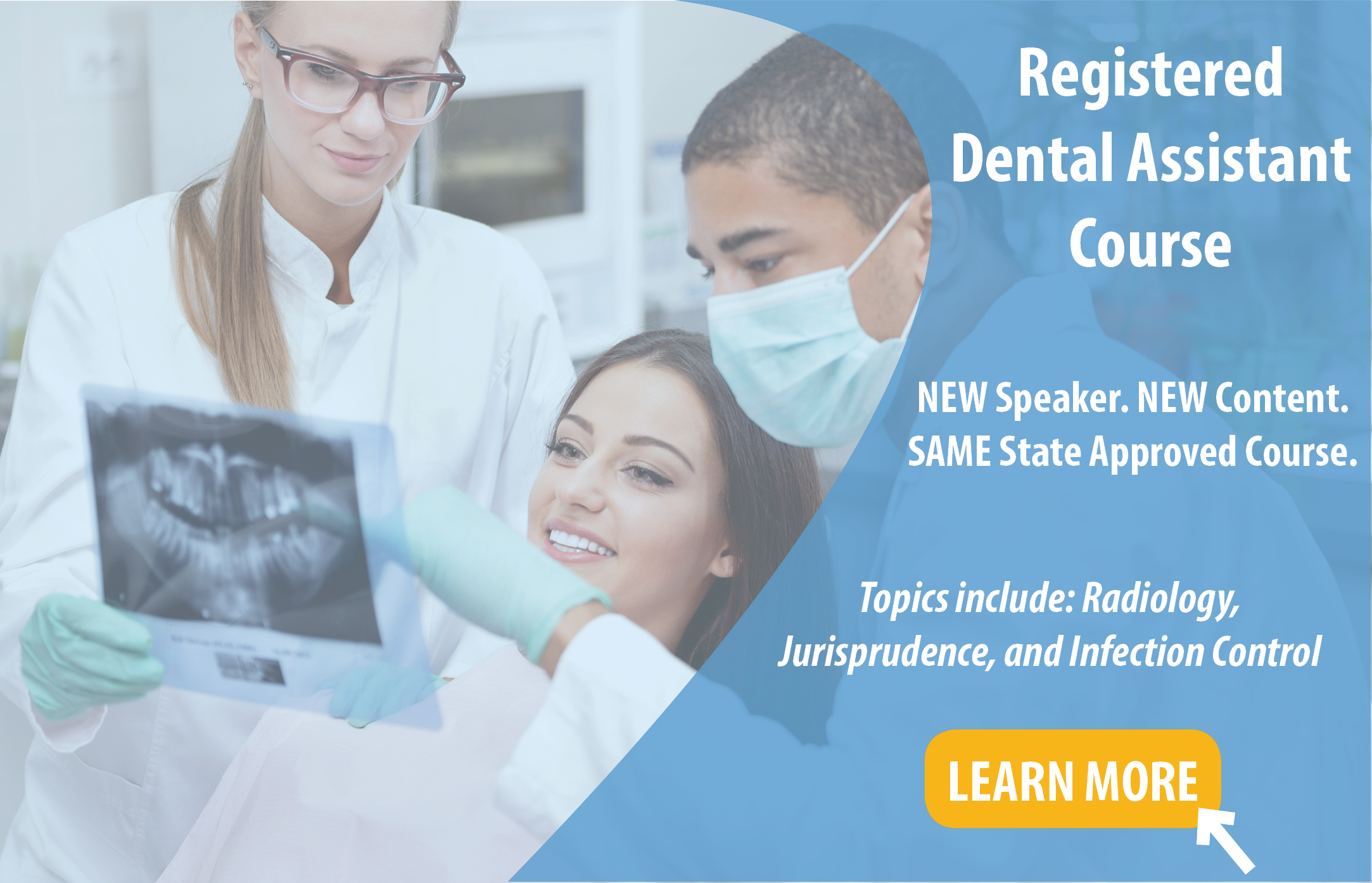 Online Registered Dental Assistant Course in Texas
